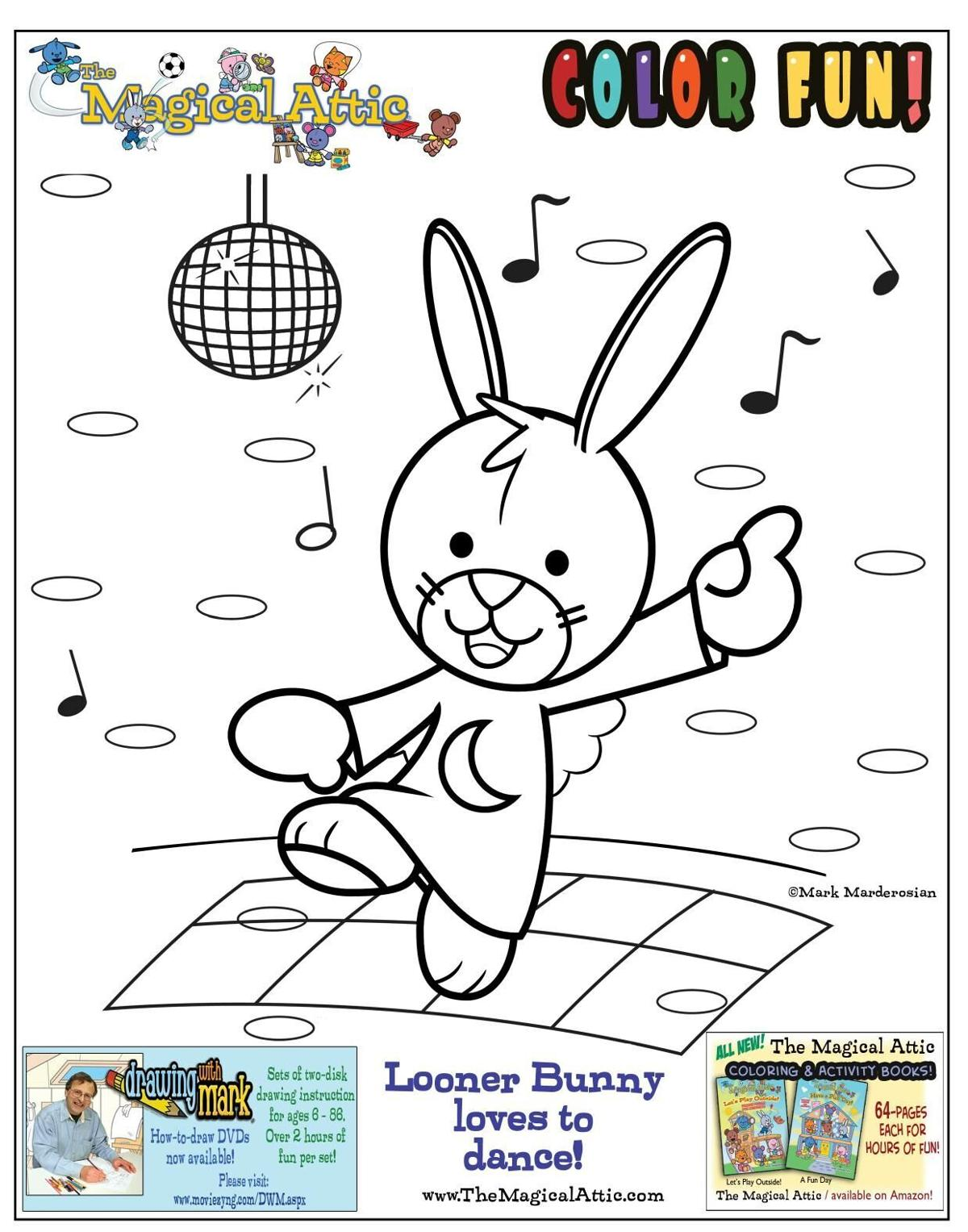 The Magical Attic with Looner Bunny