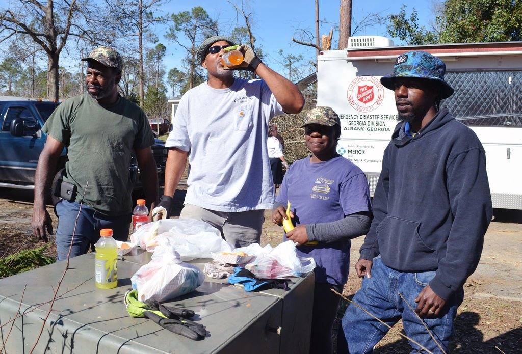 Salvation Army conducts disaster relief outreach following tornado