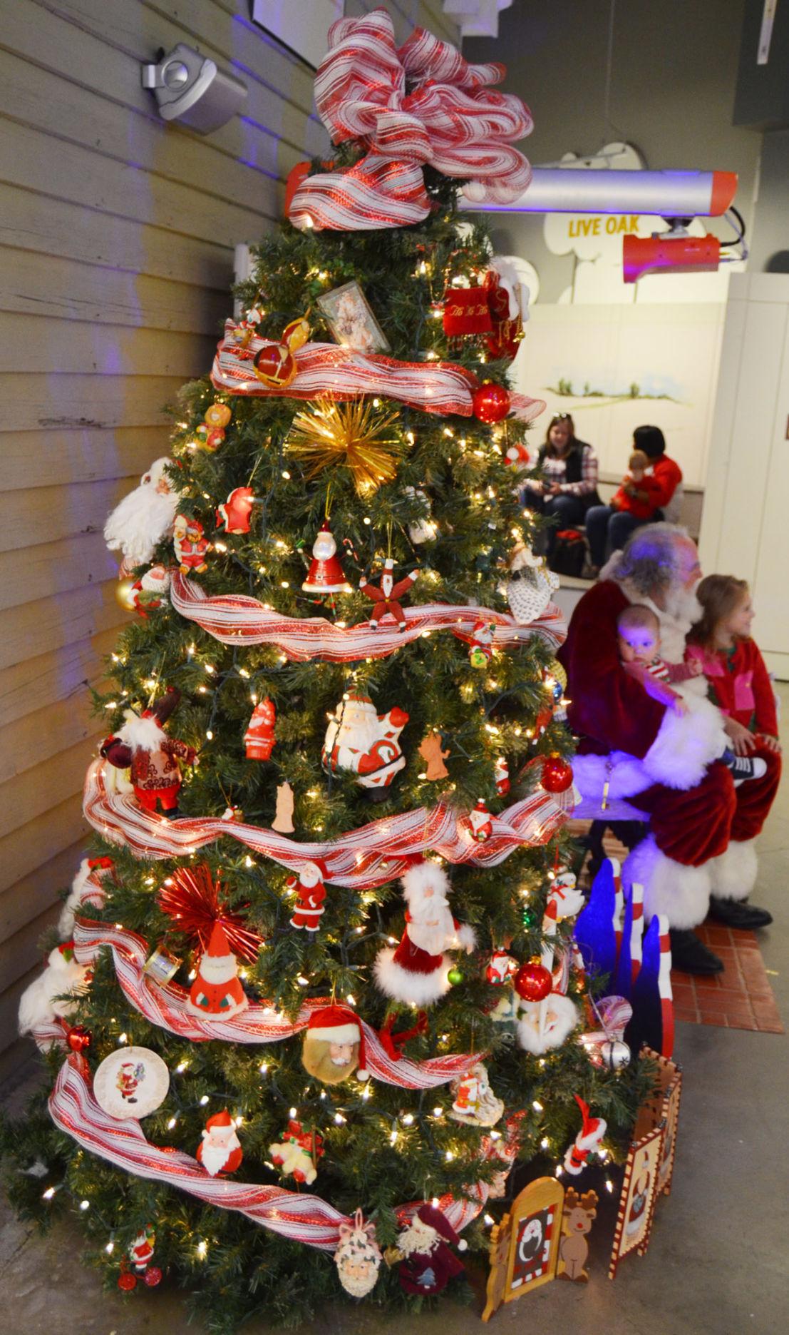 Don Fisher Christmas Collection on display at Thronateeska Heritage