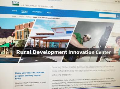 U S Department Of Education Launches New Idea Website >> U S Department Of Agriculture Launches Rural Development Web Page