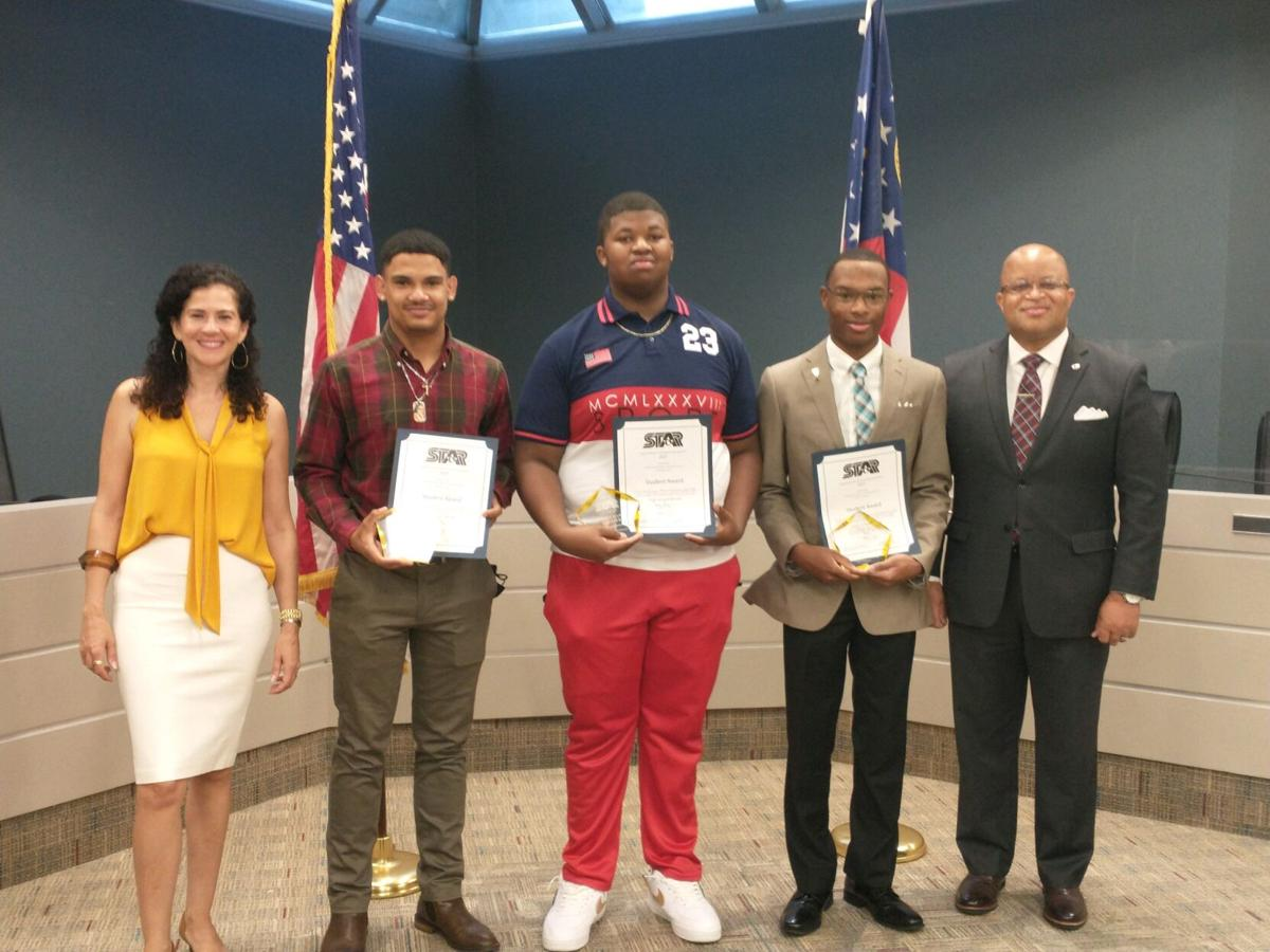 STAR students named during ceremony at Dougherty County School System offices