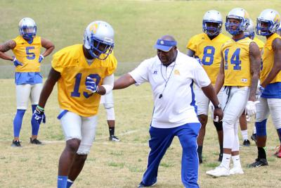Albany State holds first football practice of spring