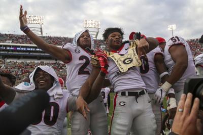 NCAA Football: Georgia at Georgia Tech