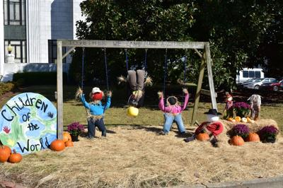 Scarecrows return to downtown Camilla