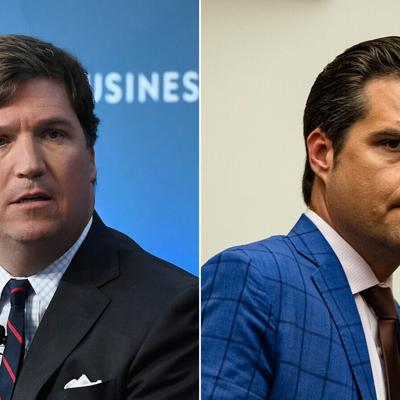 Tucker Carlson livid after Rep. Matt Gaetz tries to rope him into controversy, source says
