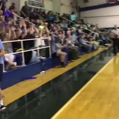 VIDEO:Have you seen the best basketball student section in southwest Georgia? Watch Terrell Academy students!