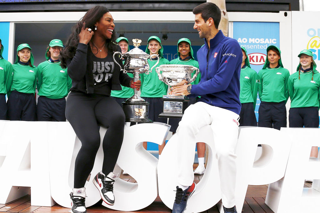 Novak Djokovic Serena Williams Roll At Australian Open Sports Albanyherald Com