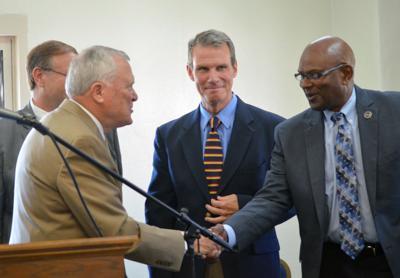 Deal takes part in dedication honoring Cochran