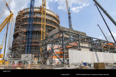 Georgia Power's new Vogtle units approximately 79 percent complete