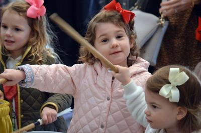 Children enjoy musical 'petting zoo' at Peppermint Pops matinee