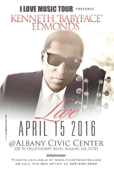 Kenny Babyface Edmonds coming to Albany Civic Center