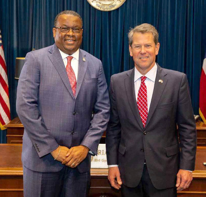 Kemp swears in six executive appointees