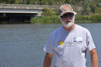 Volunteers clean up the Flint