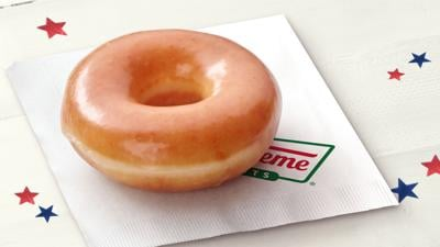 Krispy Kreme is offering free doughnuts and 'I Voted' stickers on Election Day