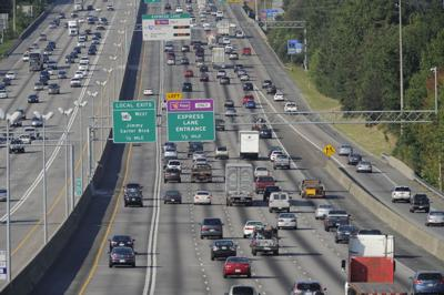 Interstate 85 traffic file photo