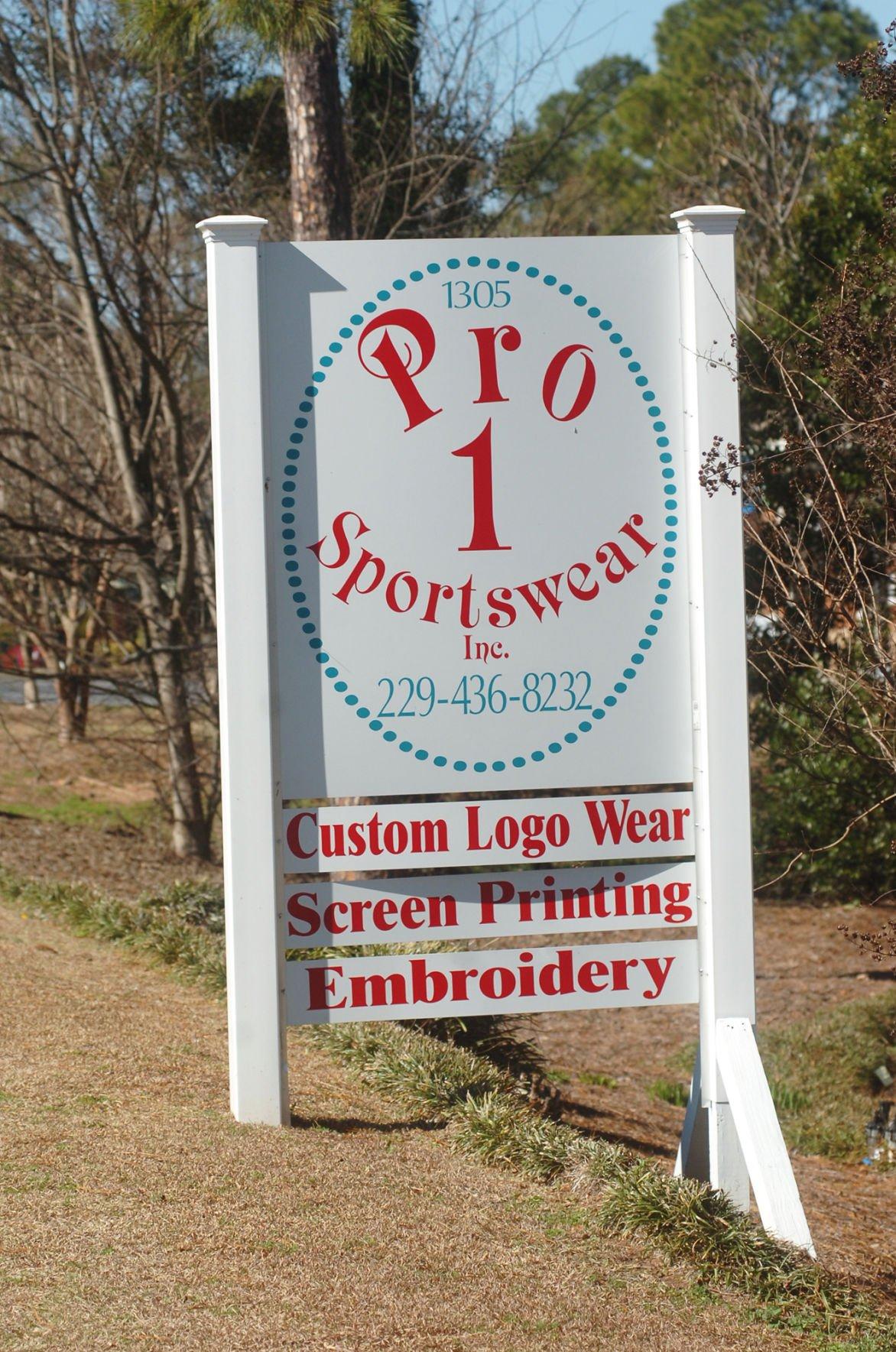 Pro 1 Sportswear Inc. provides embroidery, custom logos ...
