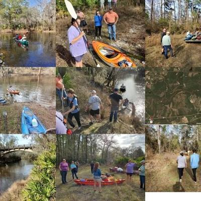 600x450 Pictures from last year, M, in Troupville to Spook Bridge, Mayor's Paddle, Withlacoochee River, by John S. Quarterman, for WWALS.net, 6 February 2021