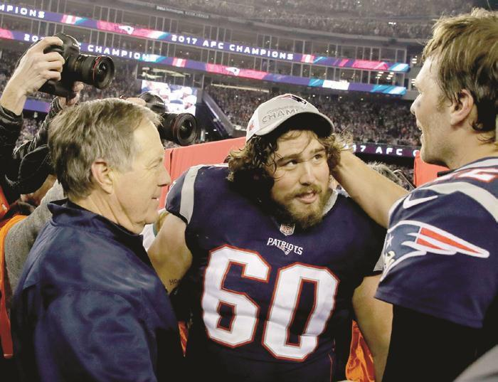 b3c4a4e1b61 Ex-UGA OL makes second Super Bowl. New England Patriots ...