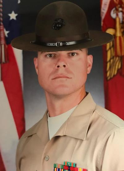 Sgt. Zachary Dally recently recognized as Drill Instructor of the Quarter