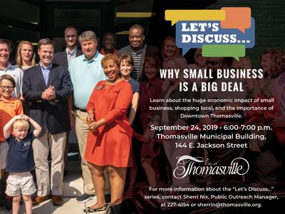 Session to focus on importance of small business and downtown Thomasville