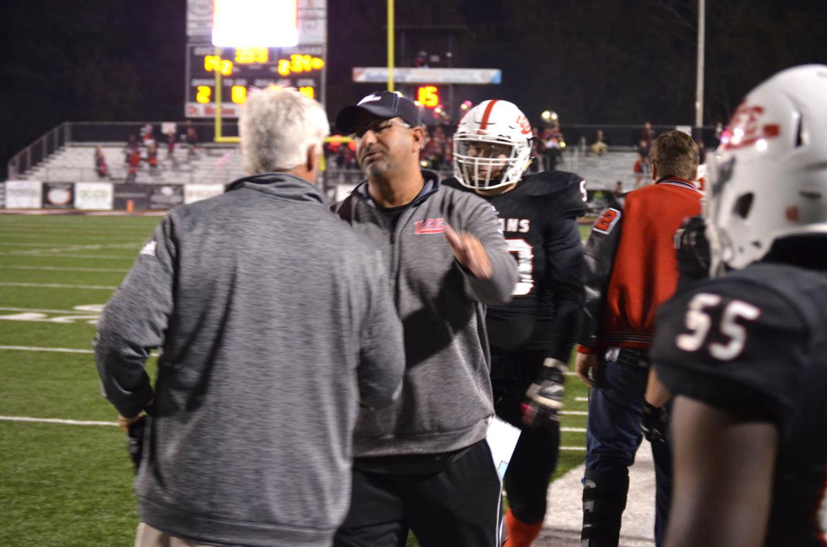 Lee County steamrolls into semifinals