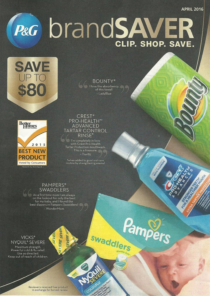 It's just a picture of Priceless P&g Coupon Printable