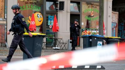 Two people killed, one suspect arrested in shooting near synagogue in Germany