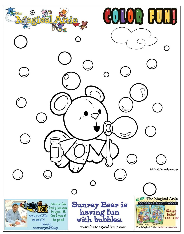 The Magical Attic with Sunray Bear