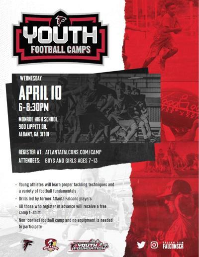 Falcons youth camp at Monroe High next week