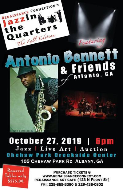 Jazzin the Quarters: The Fall Edition set for Oct. 27