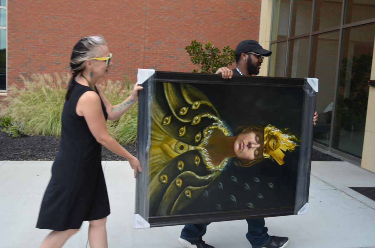 Florida artist's works go on display Friday at Albany State University