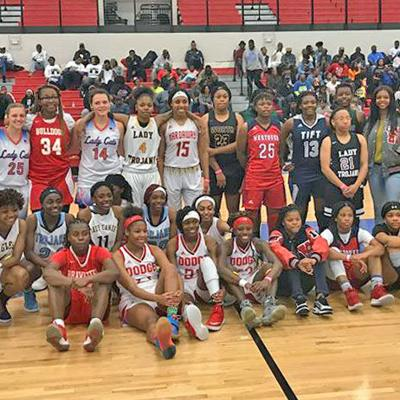 2019 Senior girls All-Star Classic team
