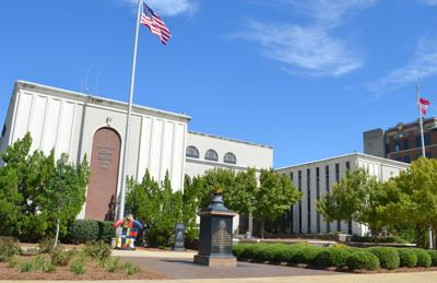 Burst water line will keep Dougherty County courthouse closed through much of the week