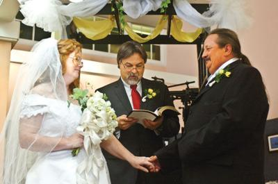 Wedding vows are renewed at Herald
