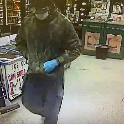 Dougherty County police looking to identify suspect in two robberies
