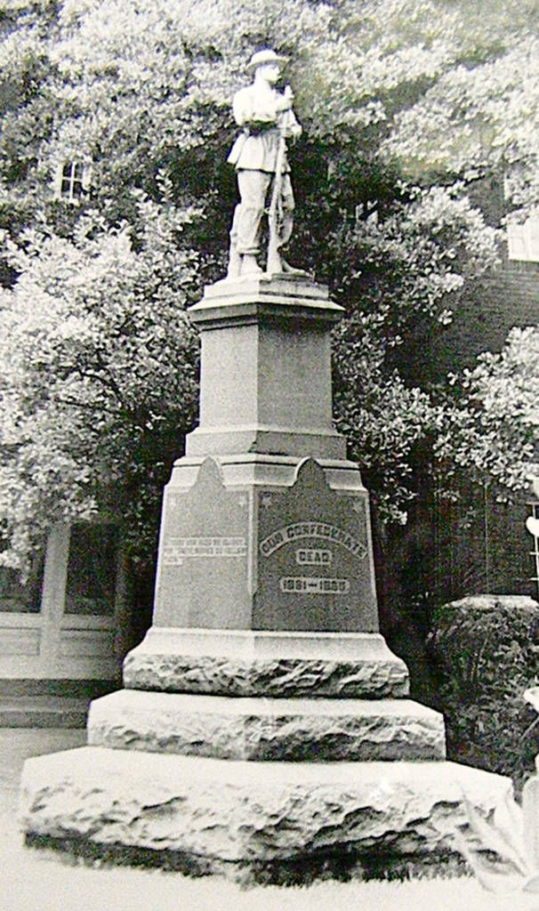 Albany Confederate statue has long history