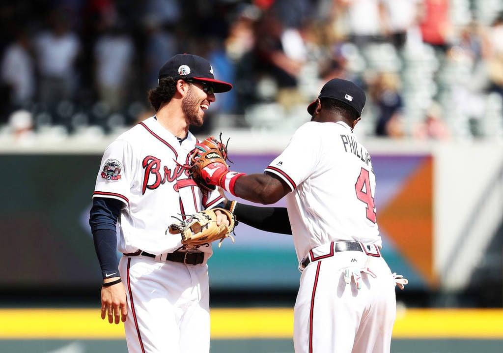 Atlanta Braves Dansby Swanson Has Amazing Moment