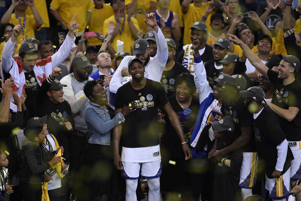 d8c0375579bd Warriors  Durant adds an important title  champion. Buy Now. Golden State  Warriors forward Kevin ...