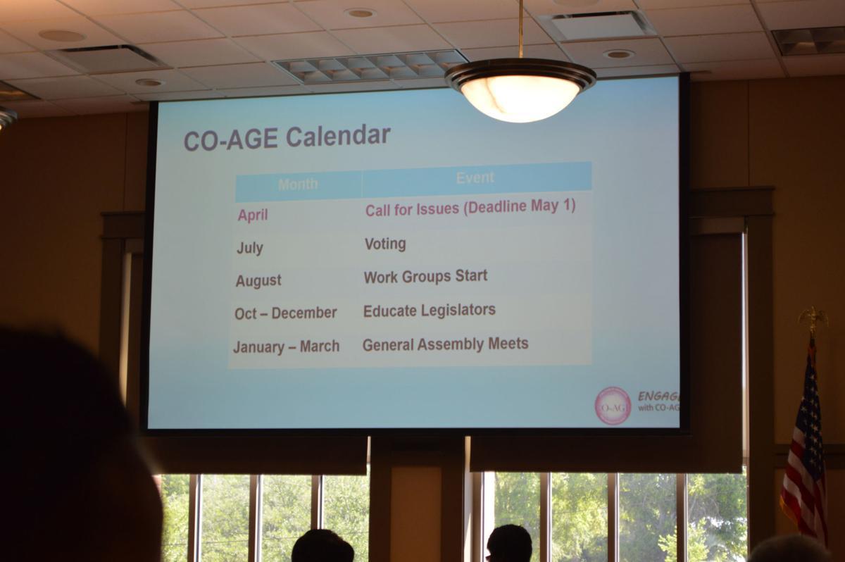 Coalition focused on senior citizen issues updates members on legislation
