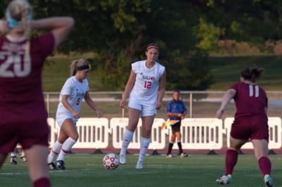 Women's soccer kicks off home schedule with win