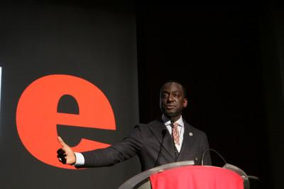 Yusef Salaam visits campus to speak about his history, the criminal justice system