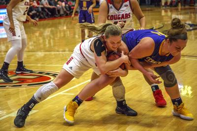Buscher reaches 300 wins in front of packed Vadalabene Center crowd