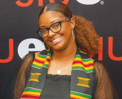 Kaylynn Woolfolk uses education to make a difference