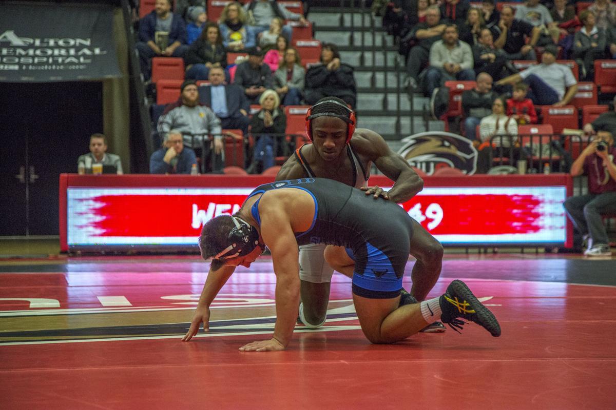 Wrestling: SIUE vs. the University of Buffalo Friday, Jan. 12