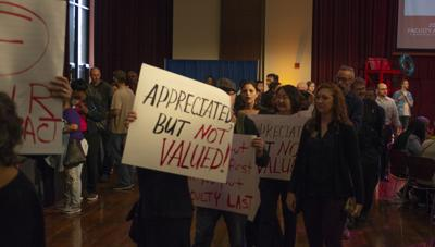 Faculty Association brings salary counter-offer to administration