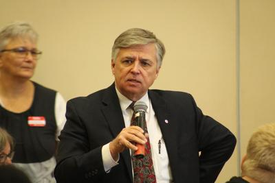 'Quad preacher' sparks town hall meeting