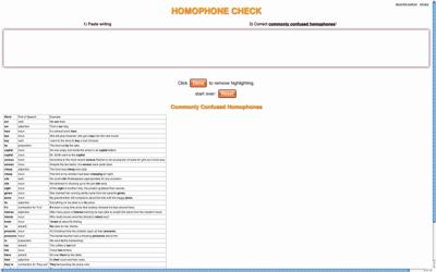 HomophoneCheck.com