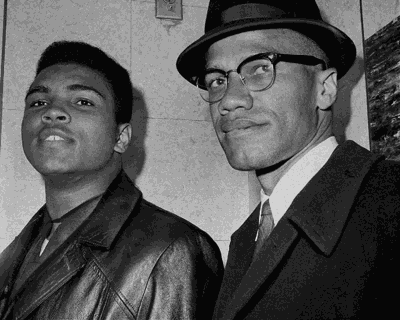Muhammad and Malcolm