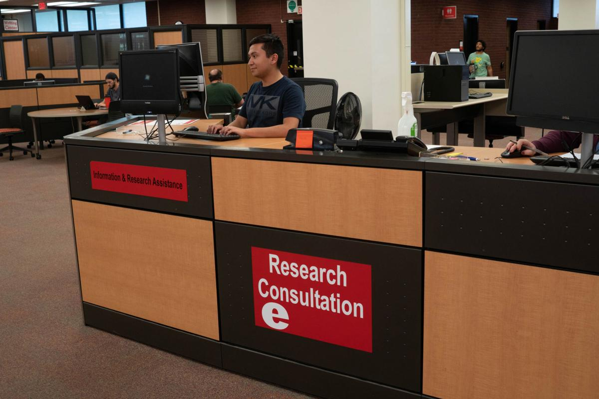 Lovejoy Library provides valuable resources for students