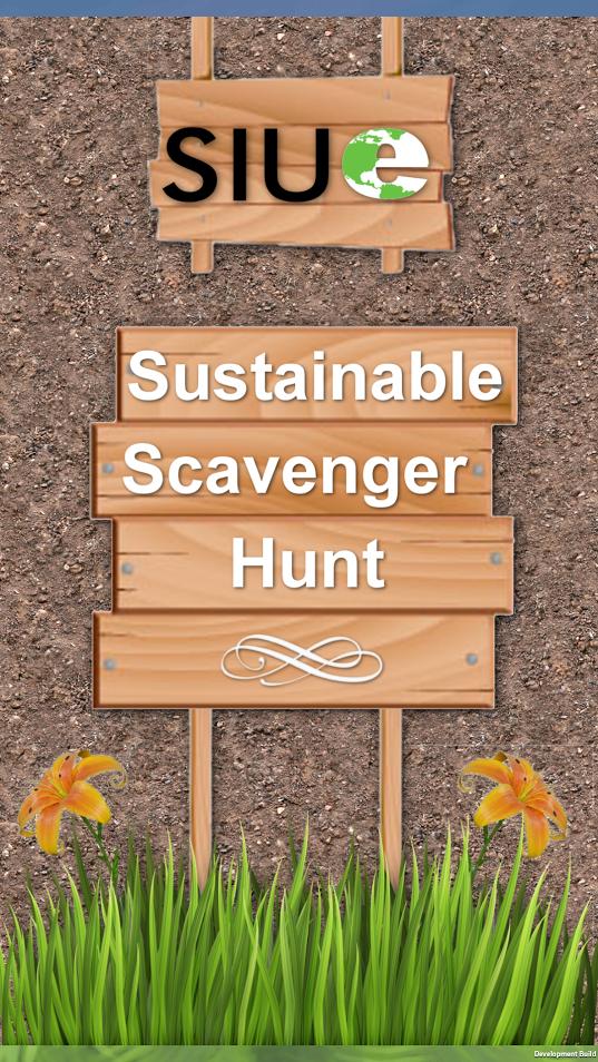 Sustainable Scavenger Hunt App
